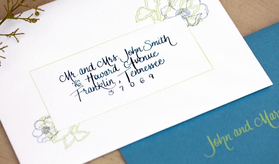 addressing wedding invitations no inside envelope - How To Address Wedding Invitations Without Inner Envelope