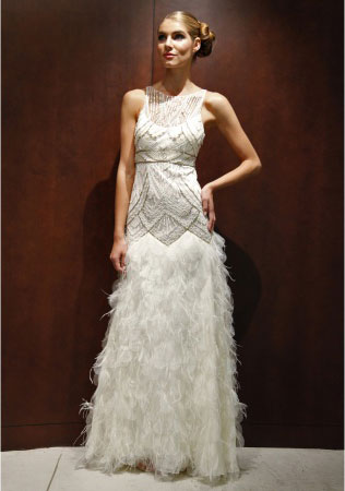 Art Deco Wedding Dress.Trending Art Deco Wedding Gowns Paper Moss