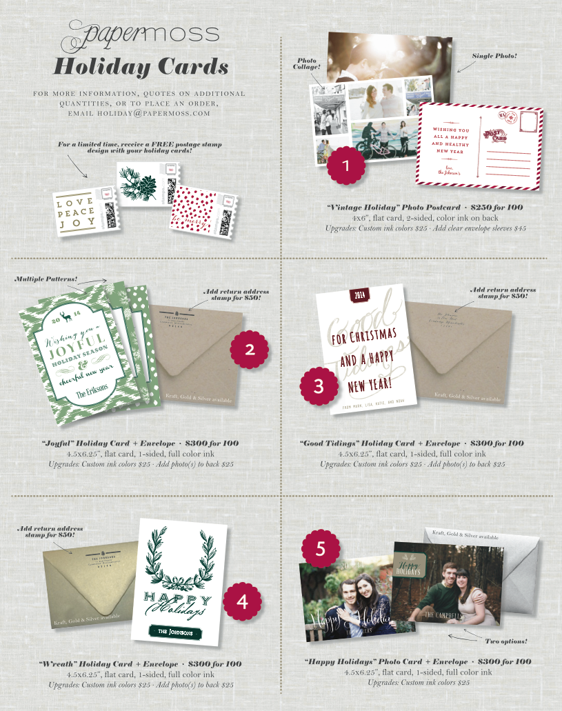 2014PM holiday cards