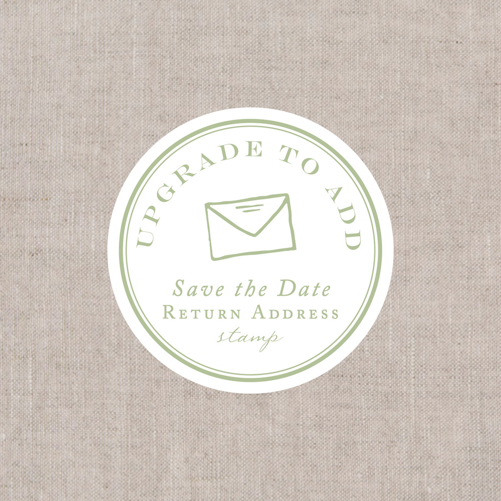 return address stamp paper moss