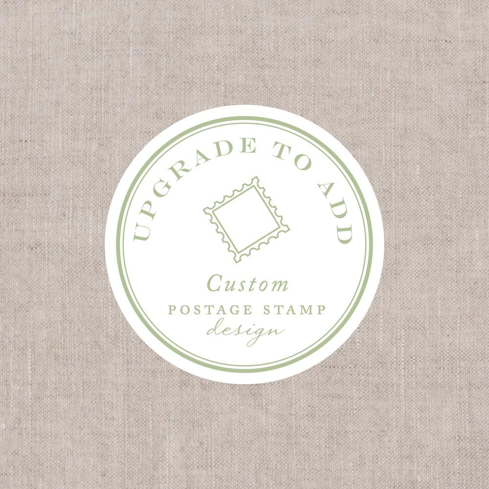 Custom Postage Design: Save the Dates