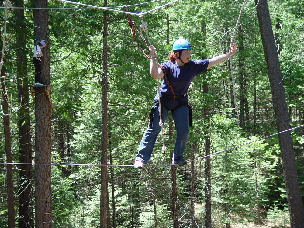 Sky Park high ropes course