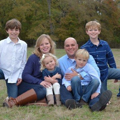 Scott's Family:  Dawn (his wife), Gibson (13), Brady (12), Leighton (8)and Blythe (5)
