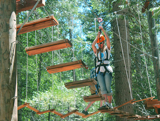 High Ropes Course -