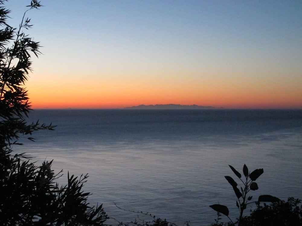 Corsica at sunrise