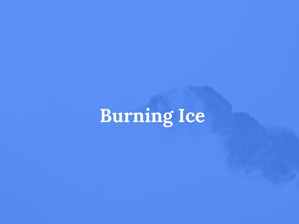 Read Burning Ice Here