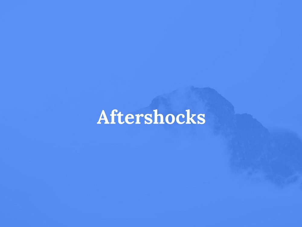 Read Aftershocks Here