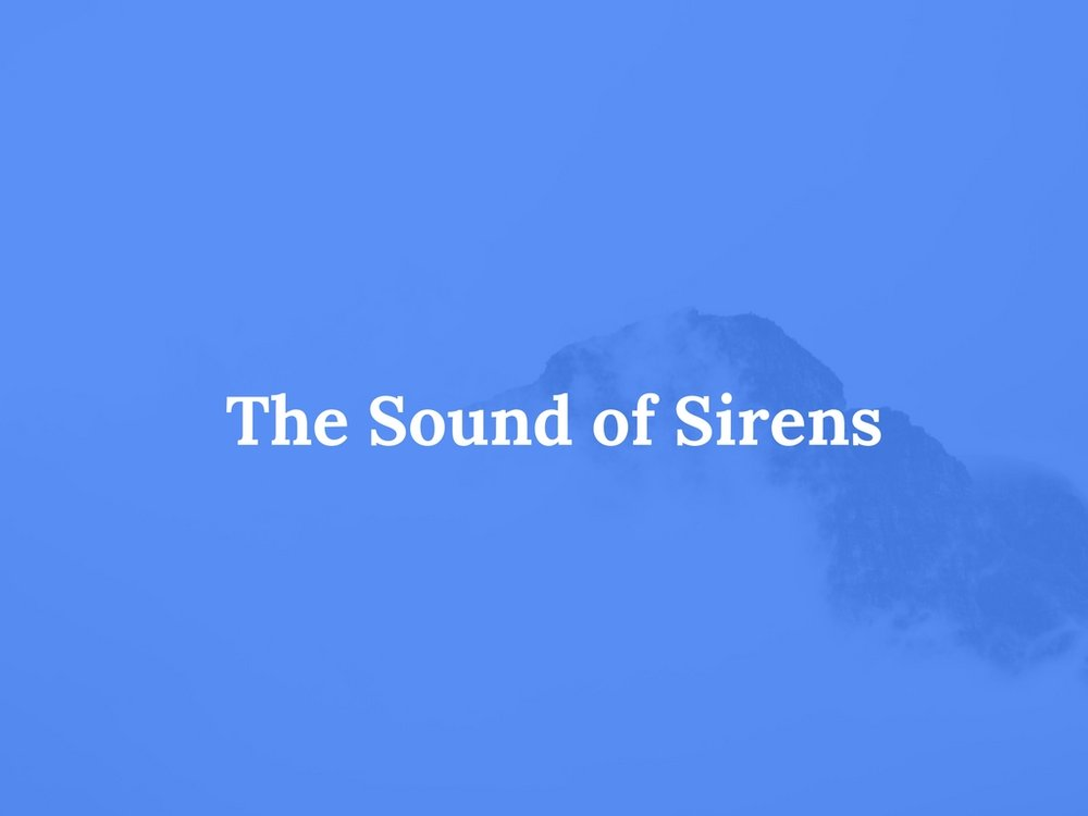 Read The Sound of Sirens