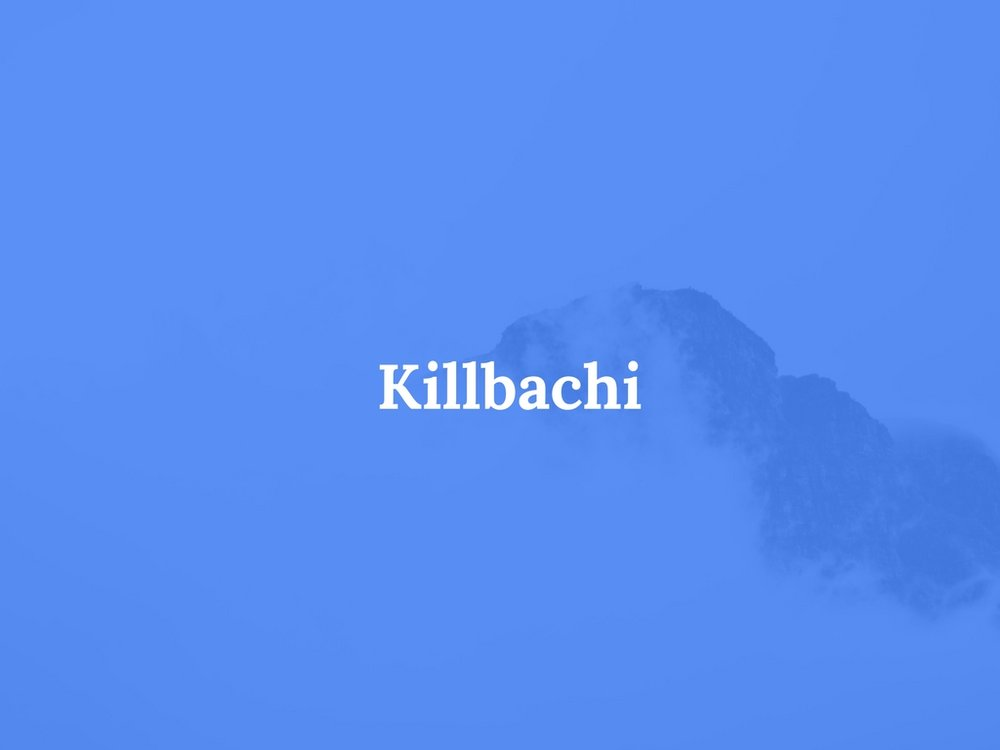 Read Killbachi