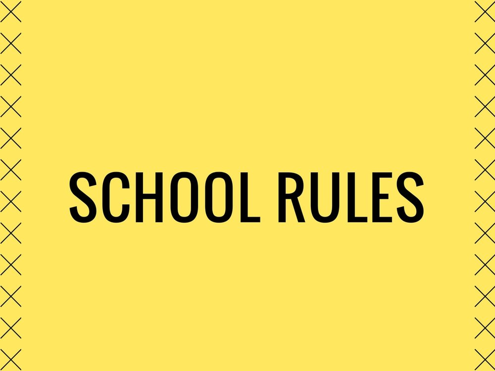Listen to School Rules