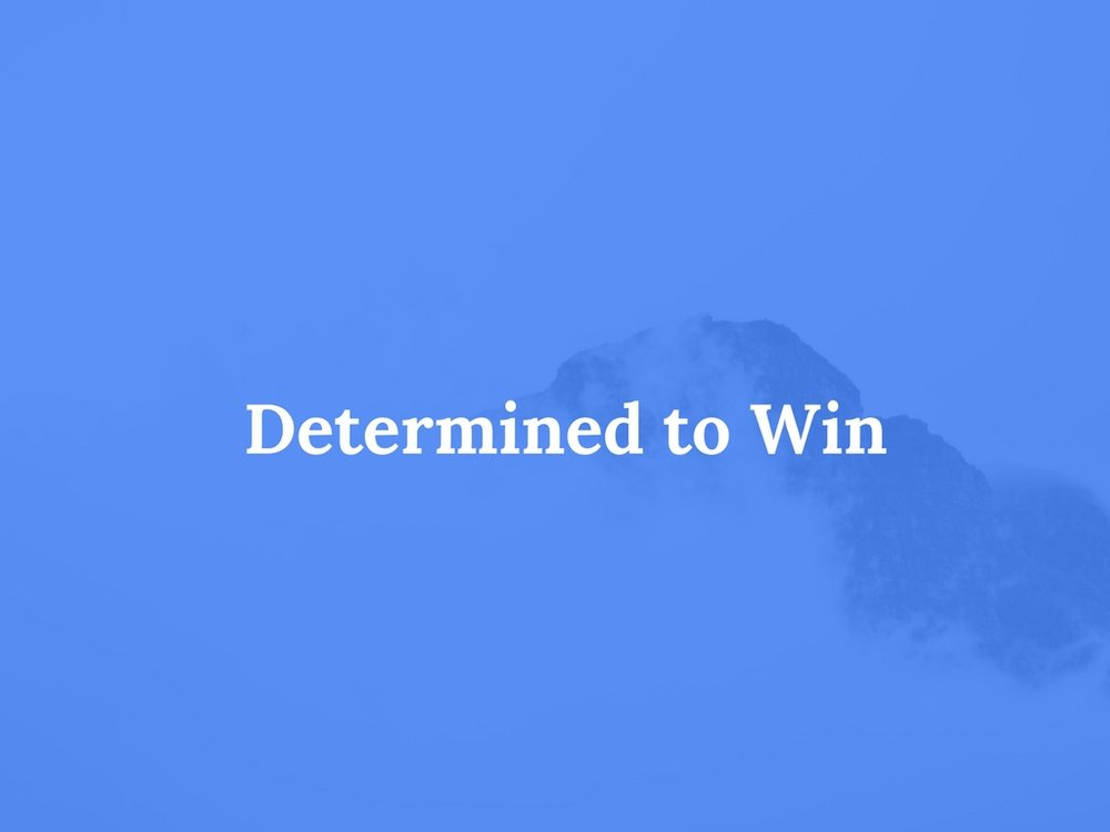 Read Determined to Win