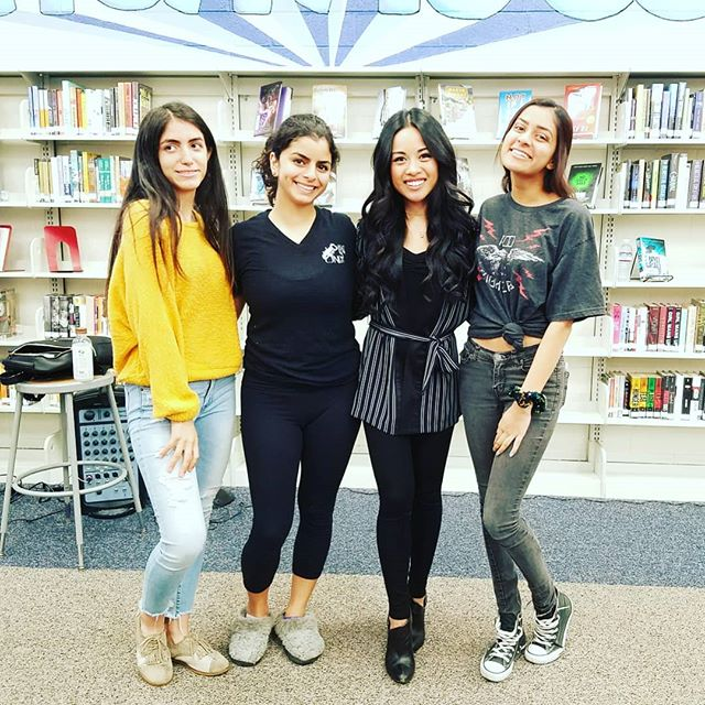 @julesaurora Big thanks to Jules Aurora for performing and speaking in the library about following your dreams.  Fantastic performance!! Thank you to ASB for setting it up too!! #julesaurora #music #americanidol #xfactor #library #uniartscore #fineartsweek
