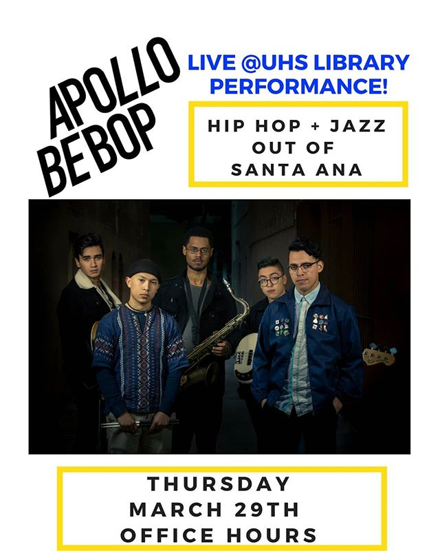 Happening today!  Don't miss it!! @apollobebop