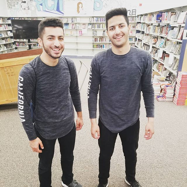 When you buy the same shirt together this happens.