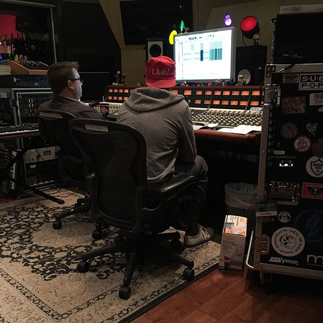 We are mixing some new songs for all of you!!!!