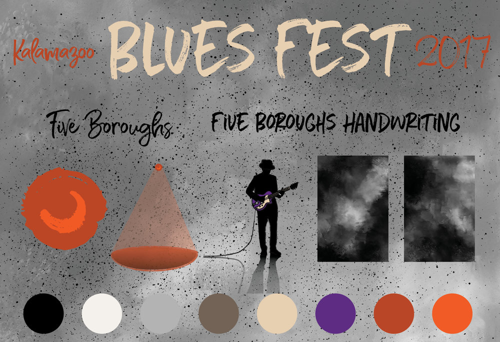 Visual Identity — Blues Fest 2017