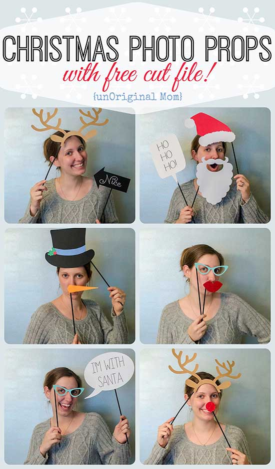 από  http://www.unoriginalmom.com/christmas-photo-booth-props/#_a5y_p=2834093
