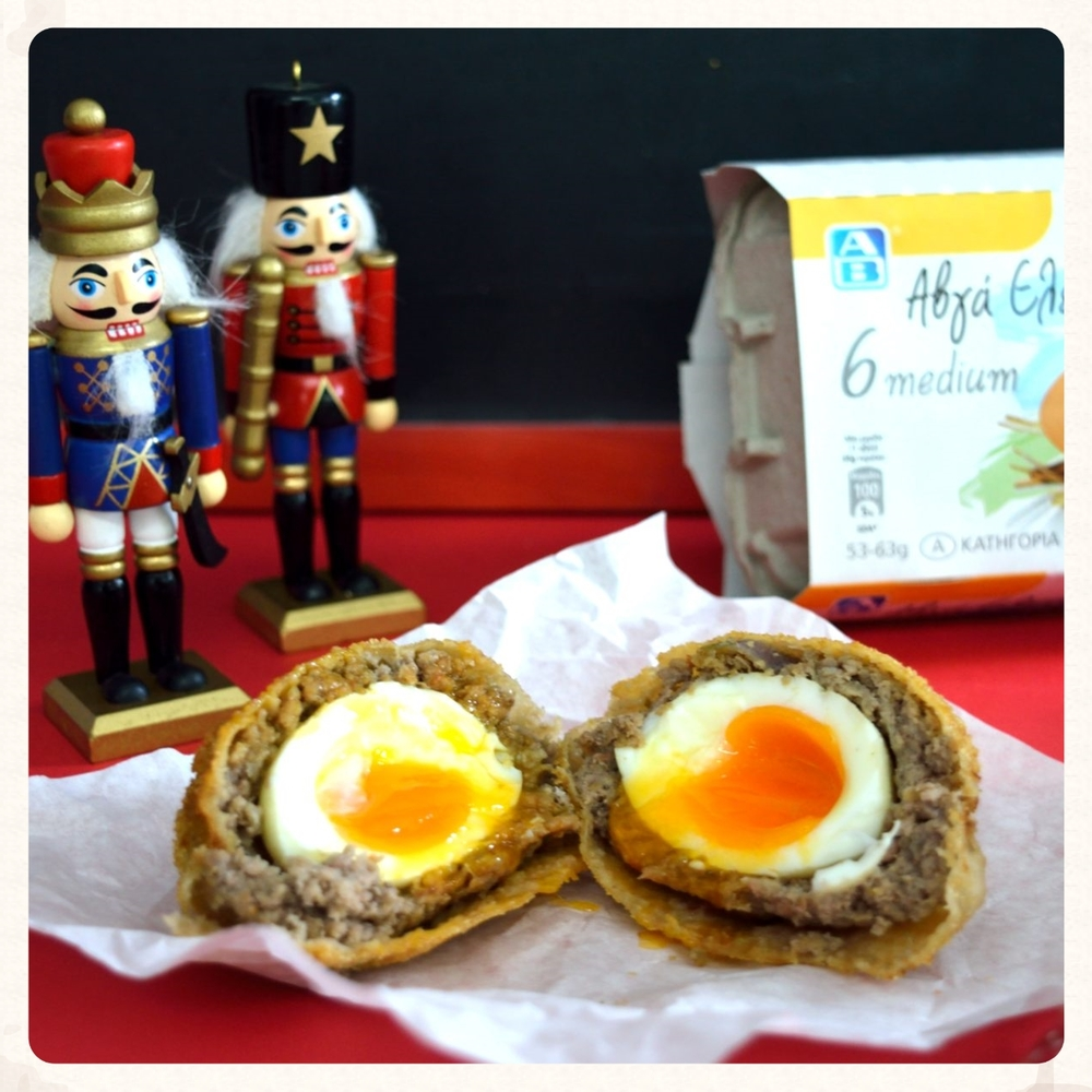 NUTRITIOUS SCOTCH EGGS FOR KIDS - THE GREEK WAY