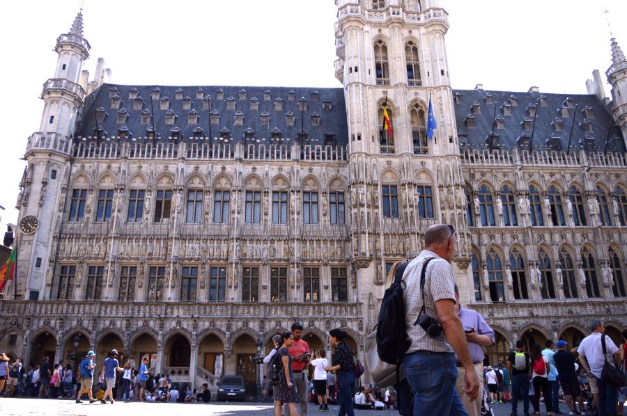Η κεντρική πλατεία των Βρυξελλών -Grand Place