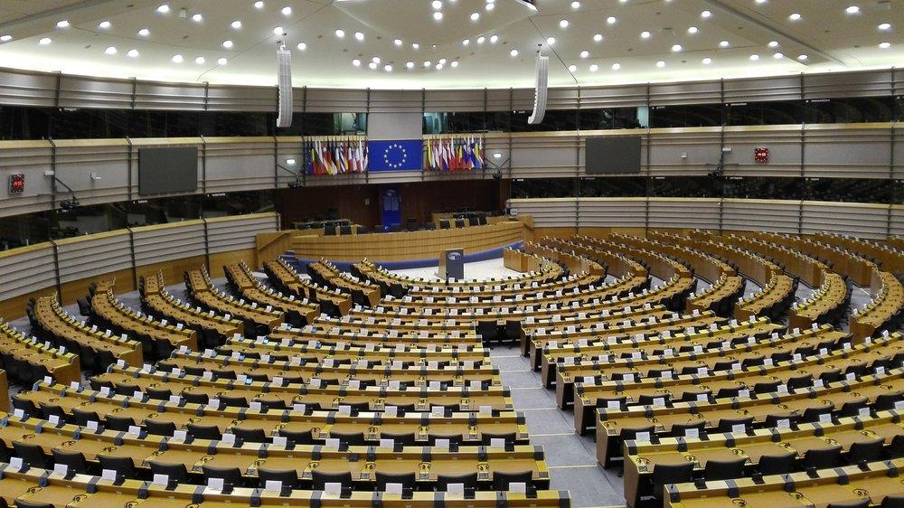 Εσωτερικά το Ευρωπαϊκό κοινοβούλιο