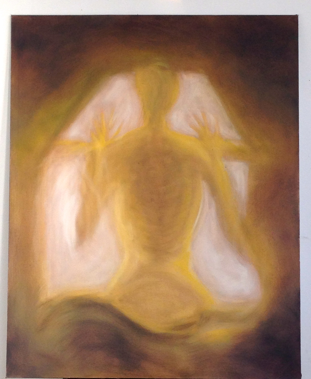 "Ethereal Moment  Canvas Panel Oil  24 x 30""  2009"