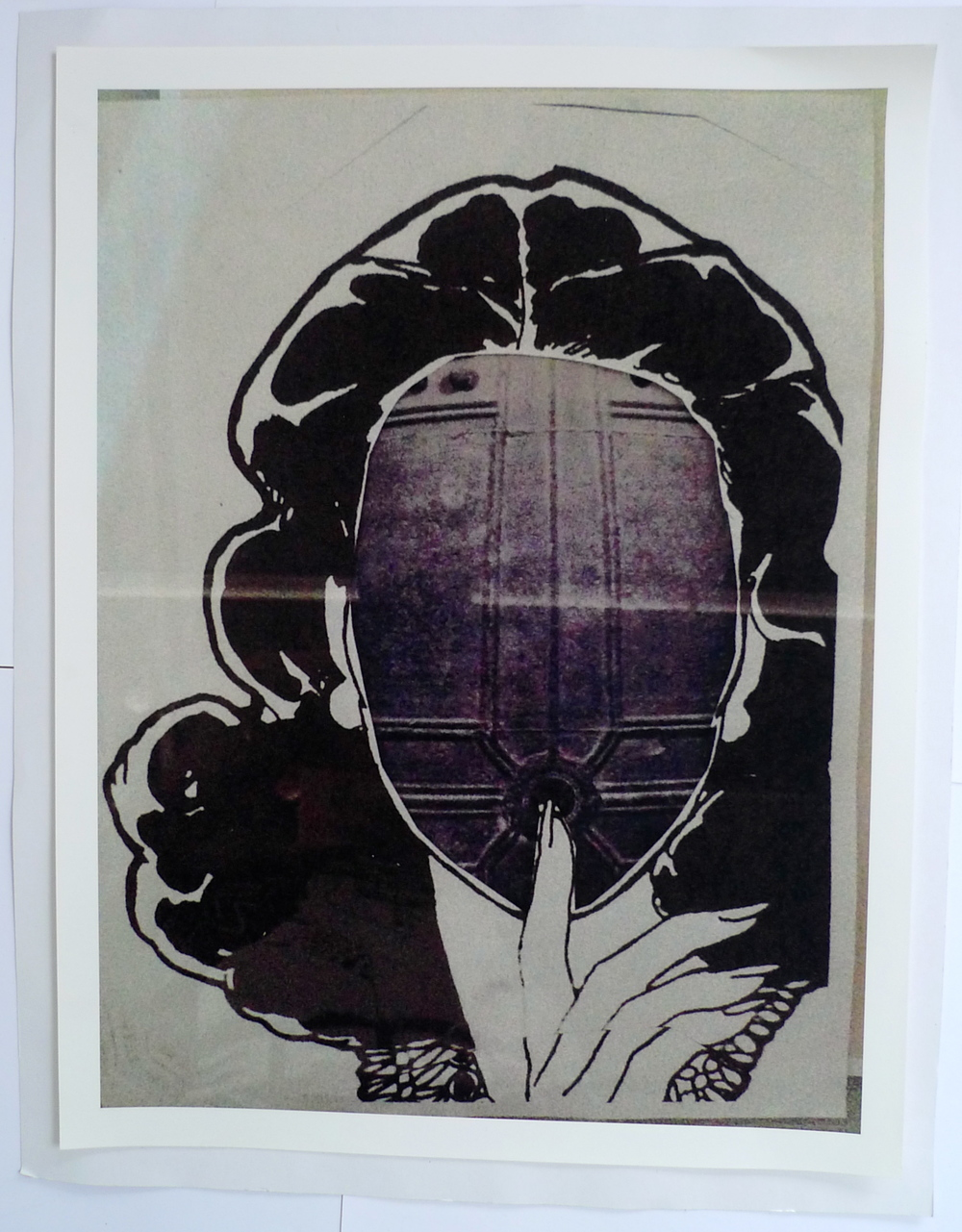 "Portal IV Giclée Print  20 x 26""  2014"