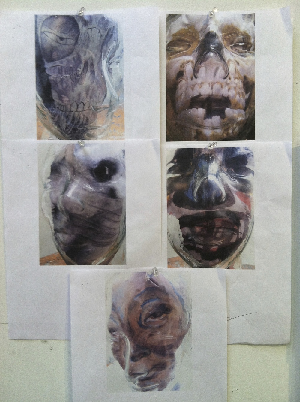 Glass Heads Studies 2014