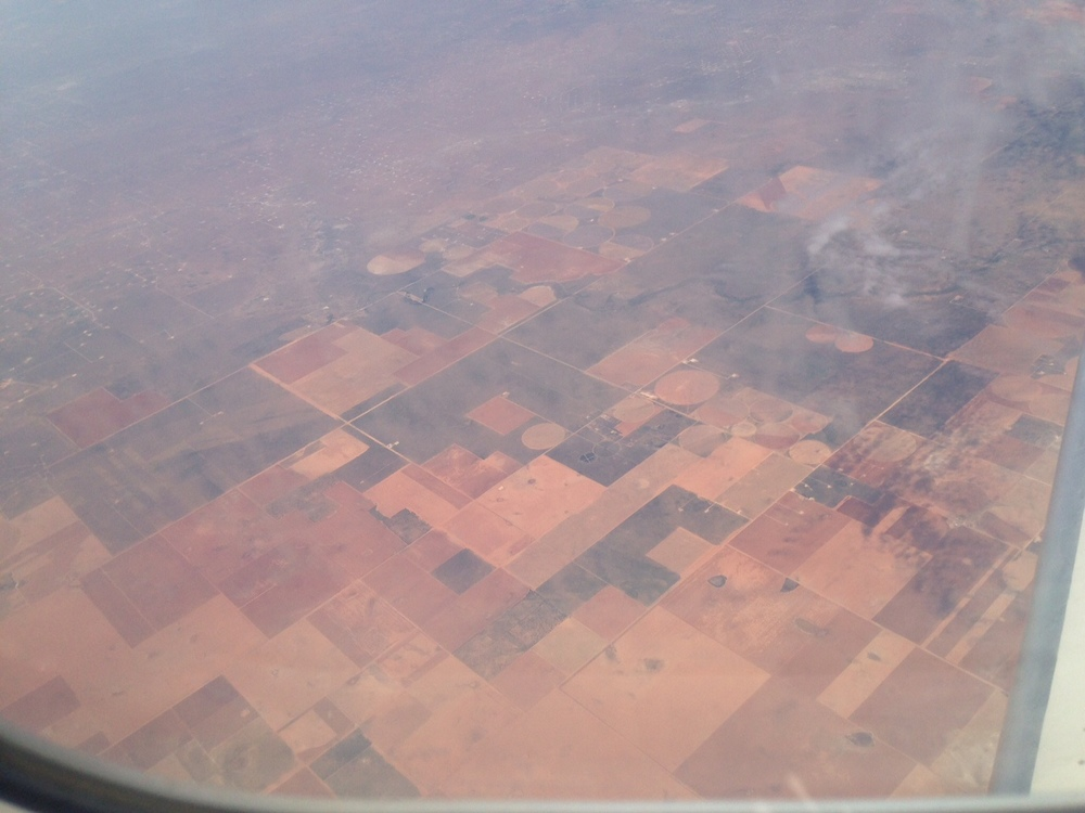 Airplane Window Landscapes  2014