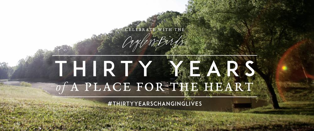 Thirty years of changing lives jonathan david melissa helser thirty years of changing lives stopboris Choice Image