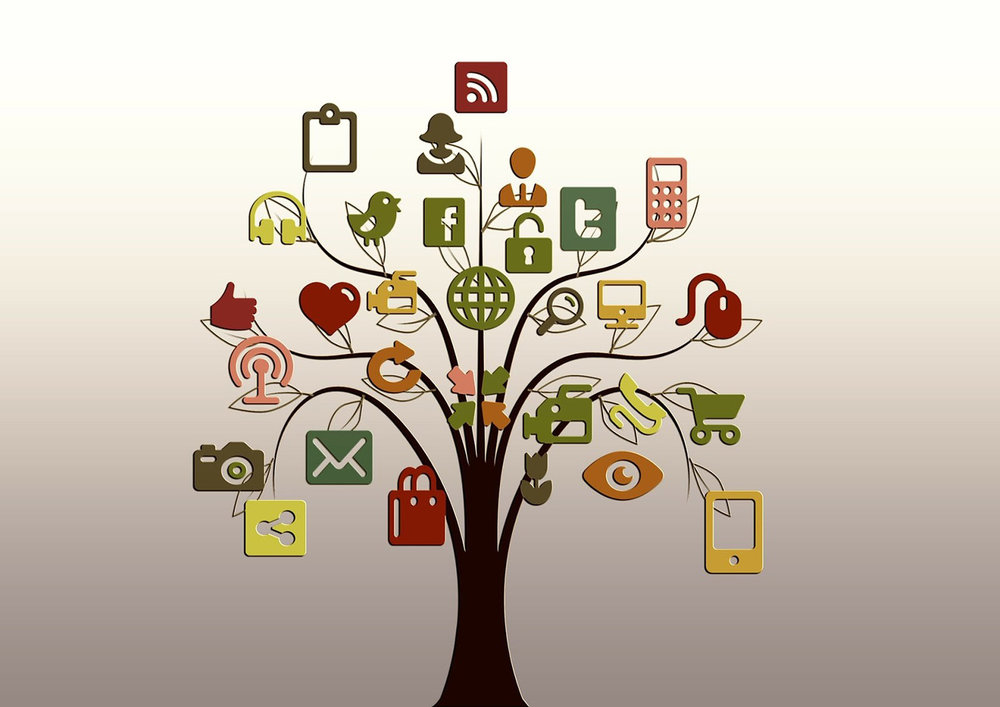 The social network tree