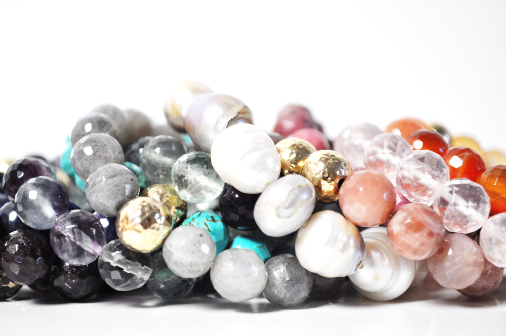SemiPrecious Stretch Bracelets