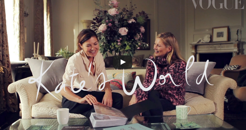 Watch: At Home with Kate Moss by Venetia van Hoorn Alkema