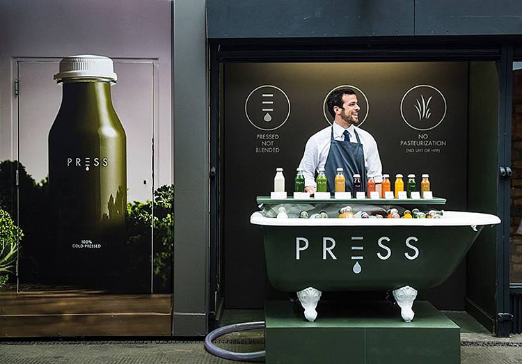 Press London, Ham Yard Hotel Soho