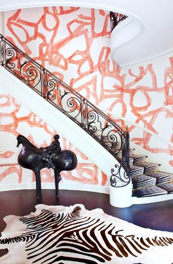 Kelly Wearstler, foyer, hallway