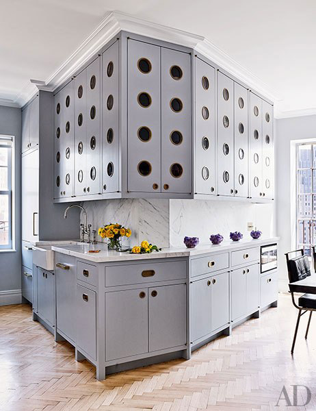 Architectural Digest, Greenwich village penthouse designed by Rafael de Cardenas,
