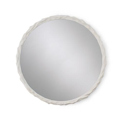 Porta Romana Twig Mirror Plaster white