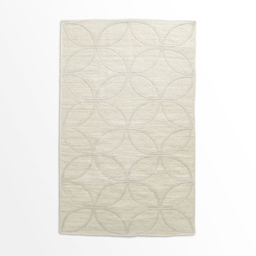 West elm leaf tile braided jute rug