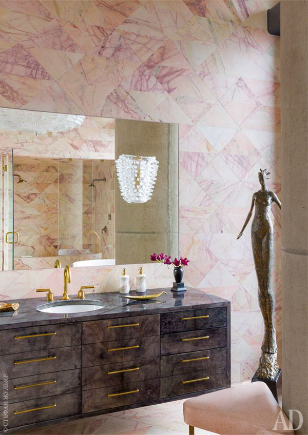 Image:  Kelly Wearstler ,  Architectural Digest Russia