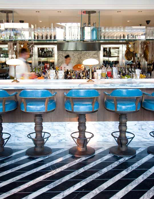 Cecconi's West Hollywood interiors