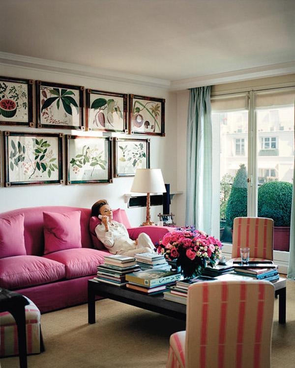 Lee Radziwill's Paris apartment