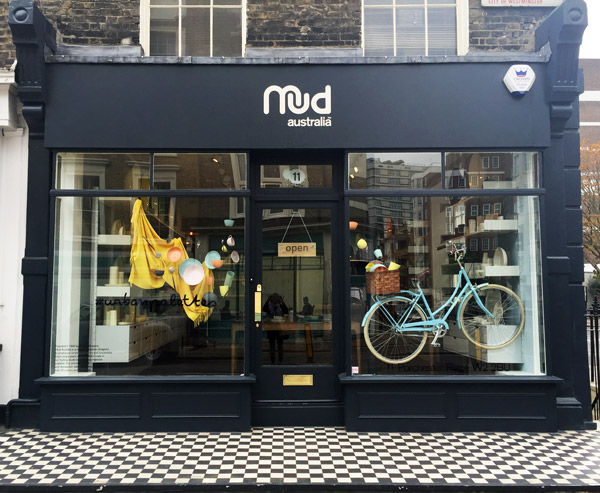 Mud Australia, London Store , homewares, porcelain