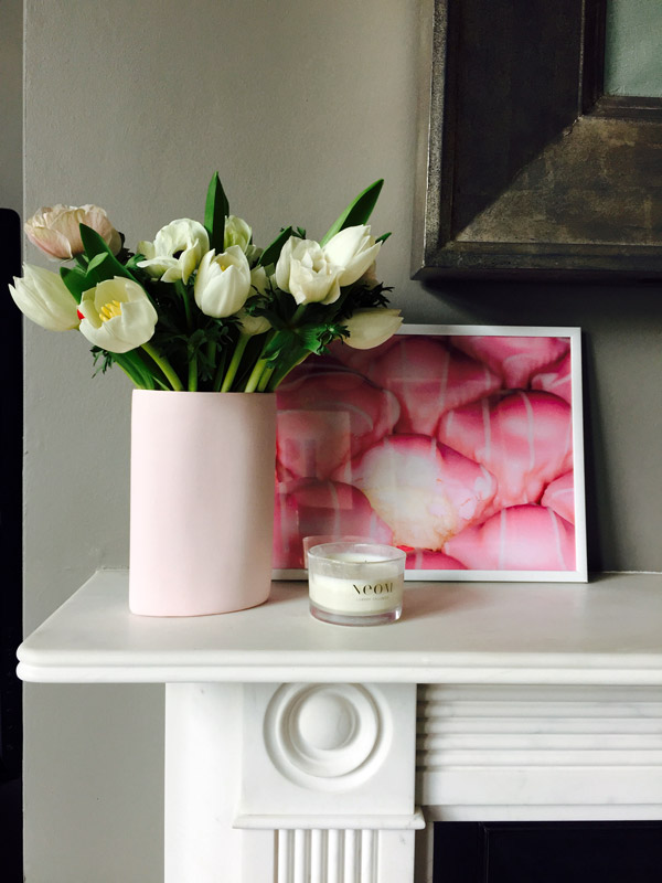 Mud Australia, London Store, pink vase , homewares, porcelain