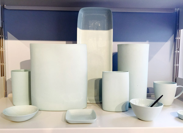 Mud Australia, London Store, blue plates, vases, homewares, porcelain