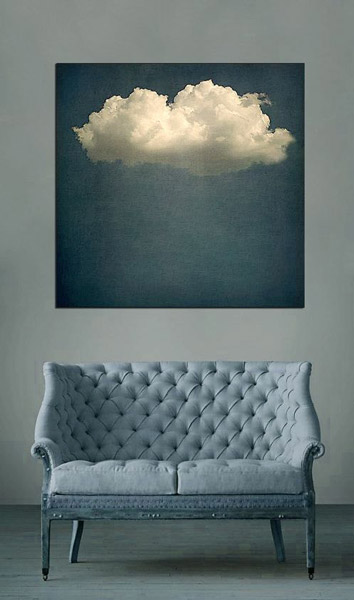 Inky Blue sofa