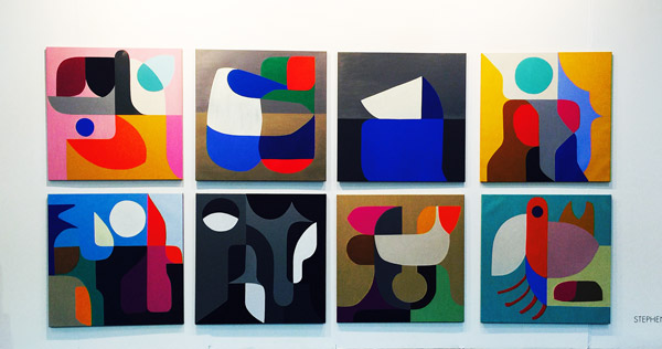 Stephen Ormandy Olsen Irwin, paintings and sculptures
