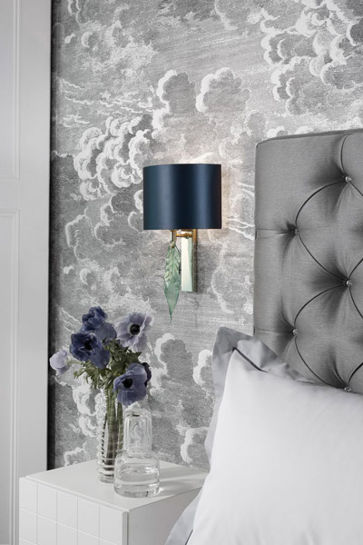 Cole & Son, Fornasetti Novelette bedroom
