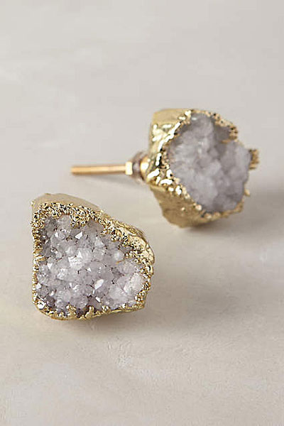 Anthropologie gemstone sparkle knob | hardware