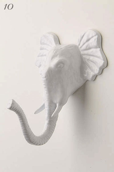 Anthropologie Encased Elephant Hook | Hardware