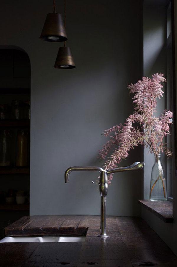 Design Sponge, Moody Mid-Century Modernist Maisonette, Vija Rhodes