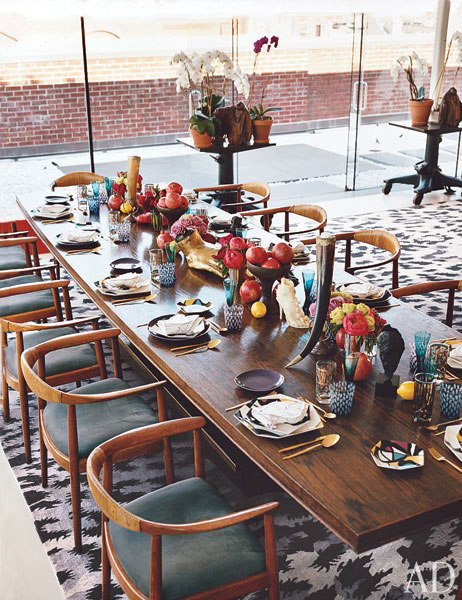 Diane von Furstenberg Meatpacking District home office, architect WORKac,